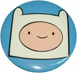 Adventure Time Finn Head Button