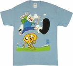 Adventure Time Finn Hurdle T Shirt