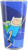 Adventure Time Finn Jake Fists Up Pint Glass