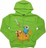 Adventure Time Finn Jake Ice King Youth Hoodie