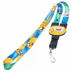 Adventure Time Finn Jake Reversible Lanyard