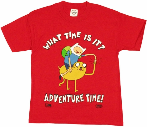 Adventure Time Fist Dap Youth T Shirt