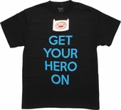Adventure Time Get Your Hero On T Shirt