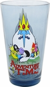 Adventure Time Group Blue Pint Glass
