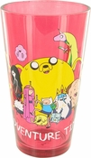 Adventure Time Group Red Pint Glass