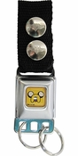 Adventure Time Jake Face Keychain