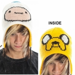Adventure Time Jake Finn Reversible Beanie