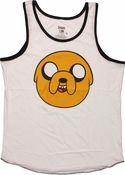 Adventure Time Jake Head Tank Top