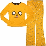Adventure Time Jake Long Sleeve Junior Pajama Set