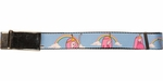Adventure Time Princess Bubblegum Rainbows Mesh Belt