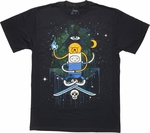 Adventure Time Seeing Eye Duo T-Shirt