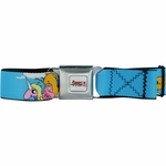 Adventure Time Sky Scenes Seatbelt Mesh Belt