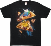 Adventure Time Space Pizza T-Shirt