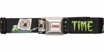 Adventure Time Zombie Time Seatbelt Belt