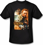 Adventures of Tintin Poster T Shirt