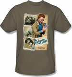 Adventures of Tintin Reporter T Shirt