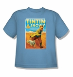 Adventures of Tintin Snowy Juvenile T Shirt