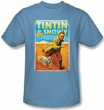 Adventures of Tintin Snowy T Shirt