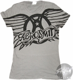 Aerosmith Wheel Music Baby Tee