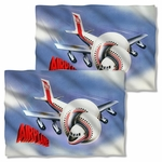Airplane Poster FB Pillow Case