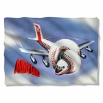 Airplane Poster Pillow Case