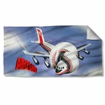 Airplane Poster Towel