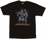Airwolf Cast T Shirt