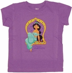 Aladdin Jasmine Youth T Shirt