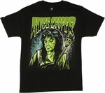 Alice Cooper Cartoon T Shirt
