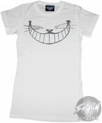Alice in Wonderland Cheshire Smile Baby Tee