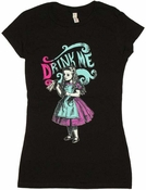 Alice in Wonderland Drink Baby Tee