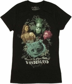 Alice in Wonderland Group Baby Tee