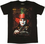 Alice in Wonderland Mad Hatter T-Shirt Sheer