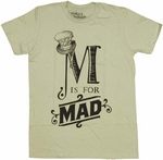 Alice in Wonderland Mad T-Shirt Sheer