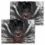 Alien Blood Drool FB Pillow Case
