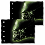 Alien Head FB Pillow Case