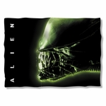 Alien Head Pillow Case