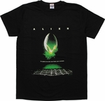 Alien Movie Poster T-Shirt Sheer