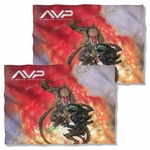 Alien vs Predator Brutal Battle FB Pillow Case