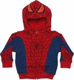 Amazing Spiderman Costume Toddler Hoodie