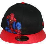 Amazing Spiderman Crouch 59FIFTY Hat