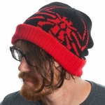 Amazing Spiderman Logo Ribbed Cuff Beanie