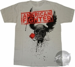 American Fighter Logo T-Shirt Sheer