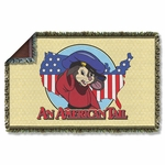 An American Tail Title Throw Blanket