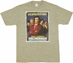 Anchorman Poster T Shirt