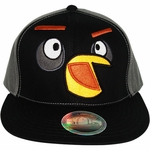 Angry Birds Black Twill Hat