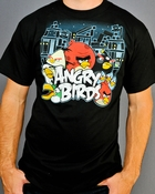 Angry Birds Group T Shirt