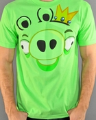 Angry Birds King Pig T Shirt