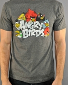 Angry Birds Logo T Shirt