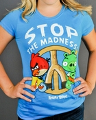 Angry Birds Madness Baby Tee